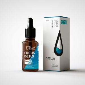 HUILE CBD 40% FOCUS/DAILY-4000MG STILLA® FULL SPECTRUM